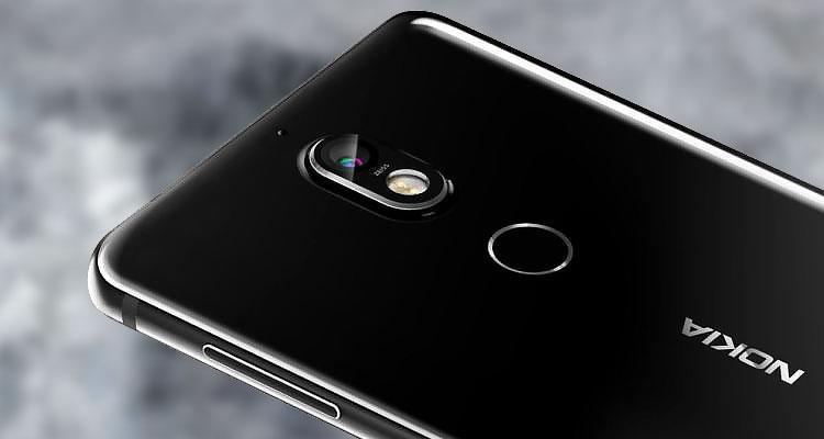 Imagen trasera del Nokia 7