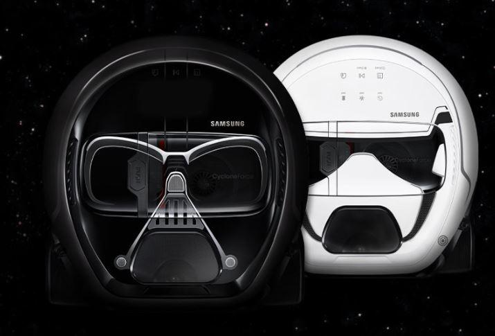 Diseño Samsung POWERbot Star Wars Edition