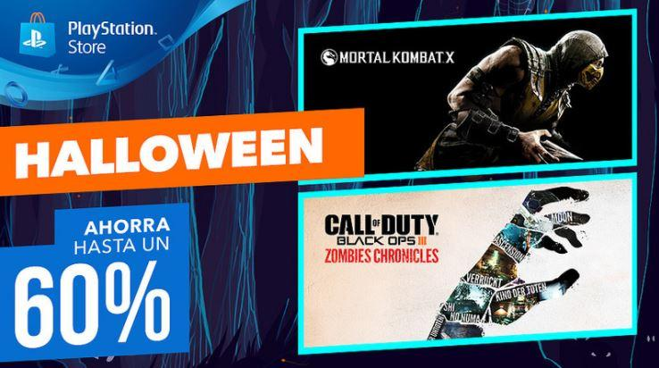 Ofertas Halloween en PlayStationStore