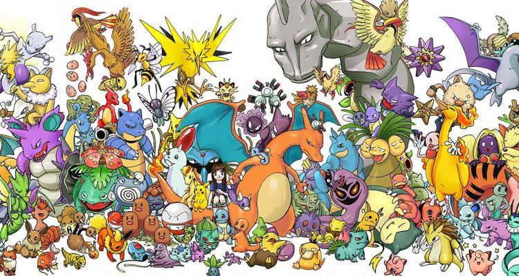 Criaturas pokémon