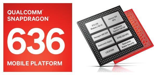Interior procesador Snapdragon 636