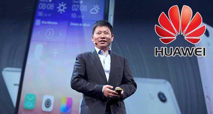 Richard Yu CEO de Huawei