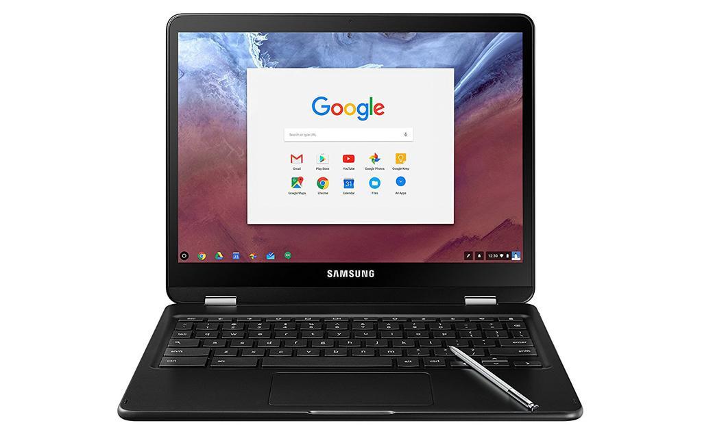 Frontal del Samsung Chromebook Pro