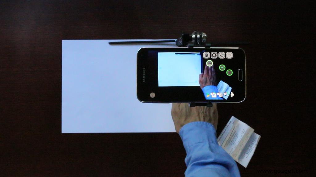 Aplicación gratis Android SkanApp hands-free doc scanner