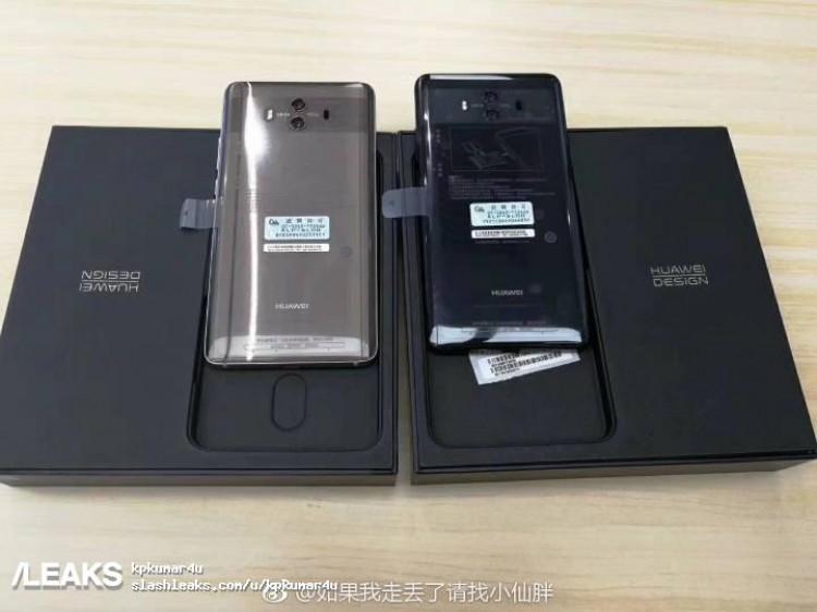 Imagen trasera del Huawei Mate 10