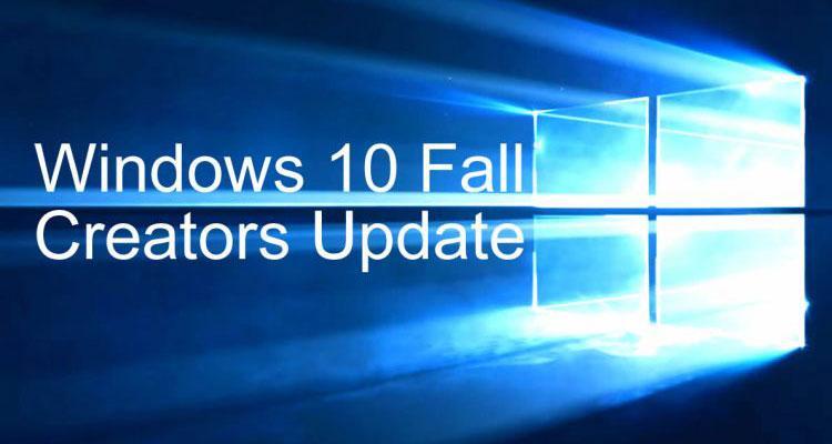 Actualización Windows 10 Fall Creators Update
