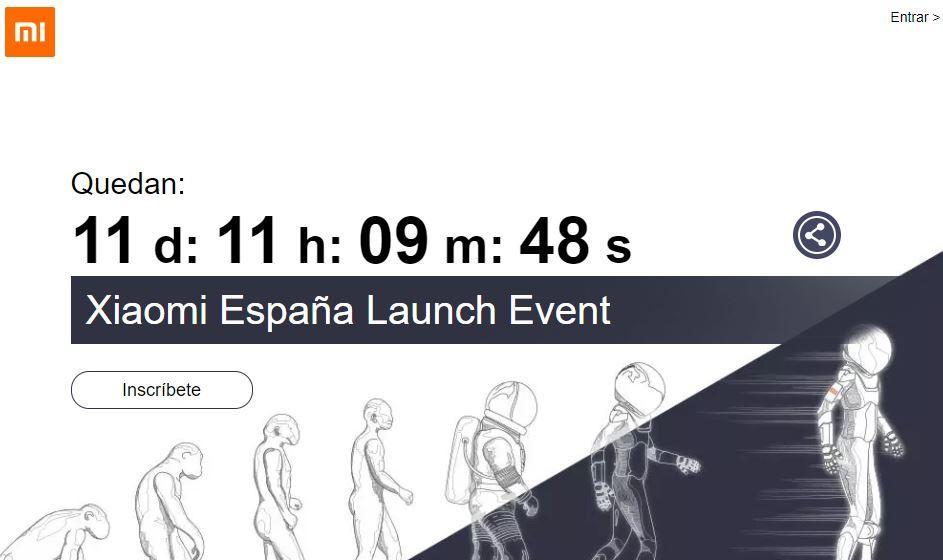 Web Xiaomi España