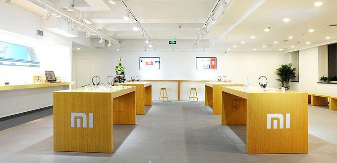 Interior de una tienda de Xiaomi