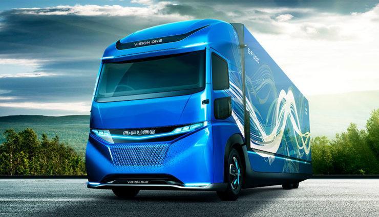 Nuwvo camión eléctrico Vision One de Daimler
