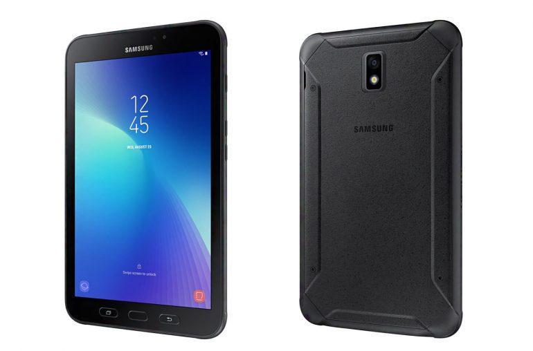 Diseño del tablet Samsung Galaxy Tab Active 2