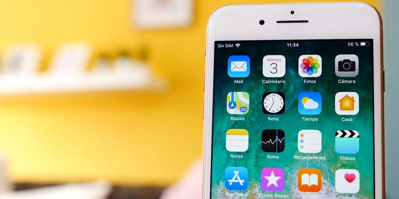Teléfono iPhone 8 Plus