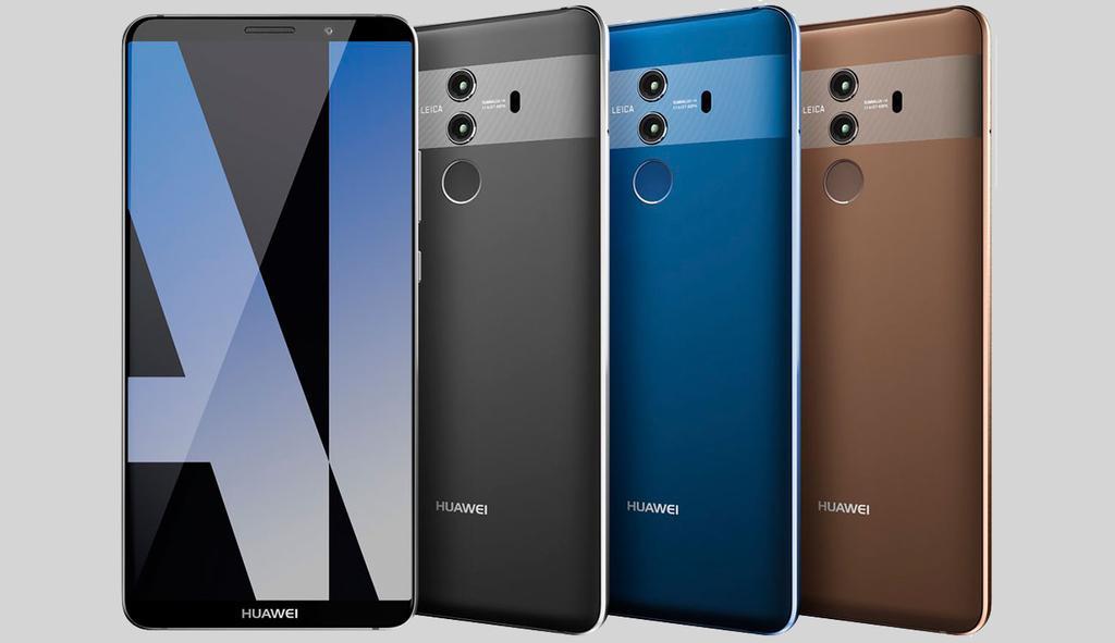 Comparativa del Huawei Mate 10