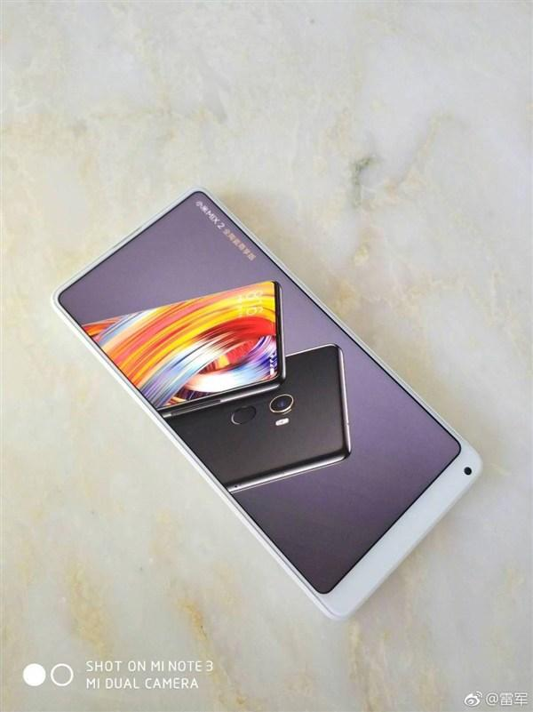 Xiaomi Mi Mix 2 en color blanco