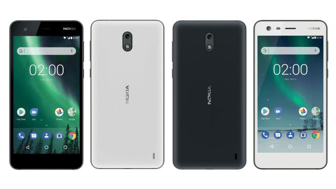 Posible diseño del Nokia 2