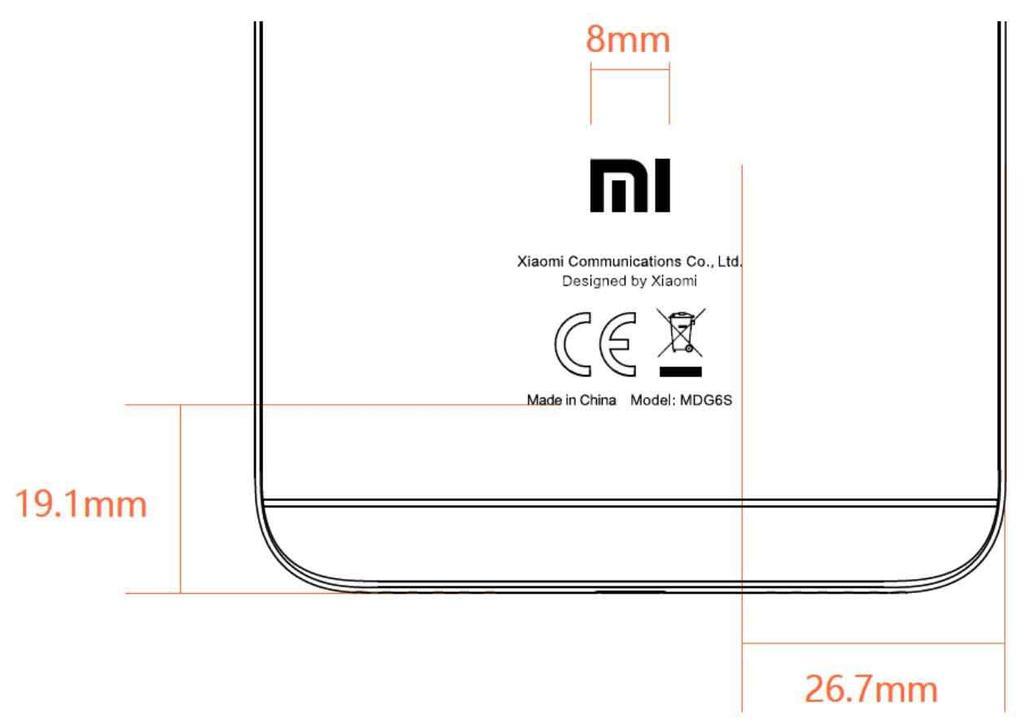Estructura del Xiaomi Redmi Note 5A Prime