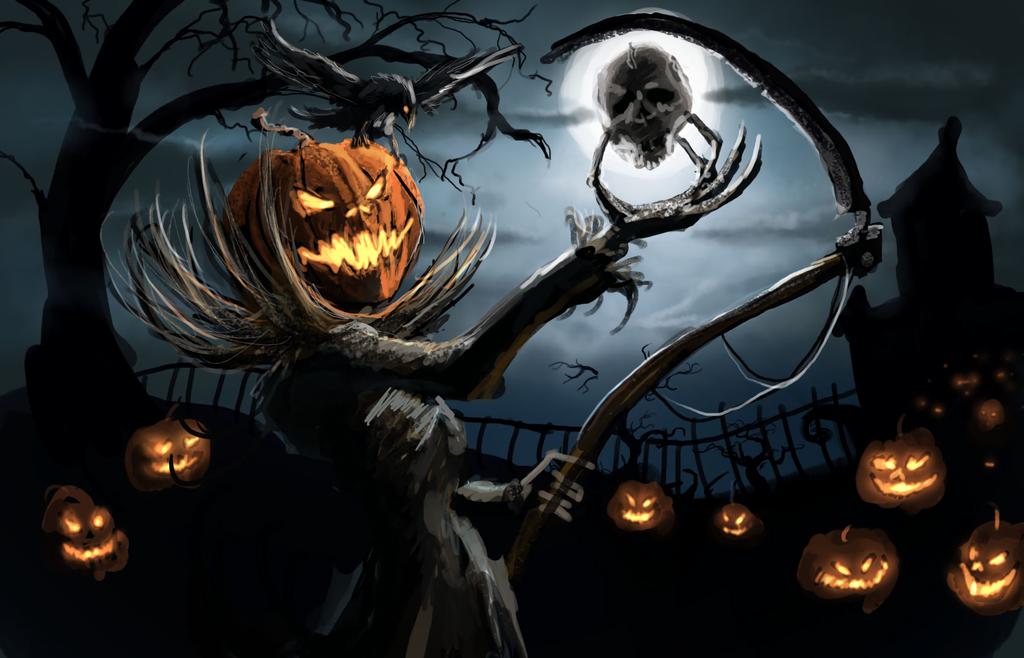 Fondo de escritorio de Halloween