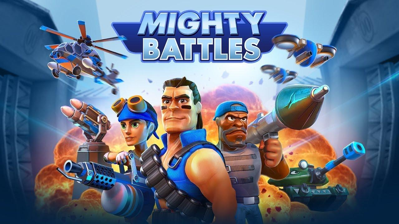 Portada de Mighty Battles