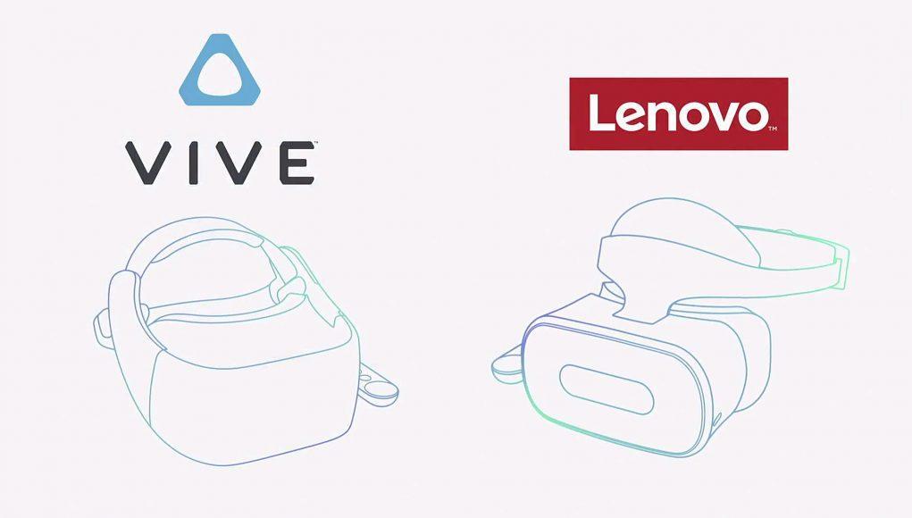Gafas VR de HTC y Lenovo