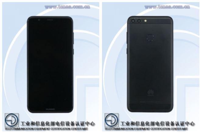 Diseño del teléfono Huawei Enjoy 7S