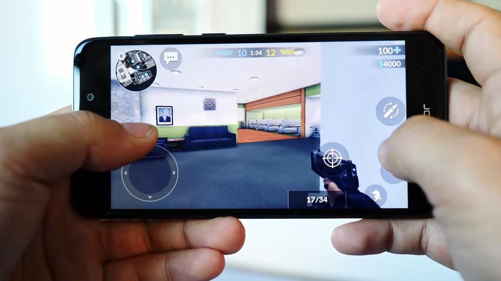Ejecución de juego en el Honor 6C Pro