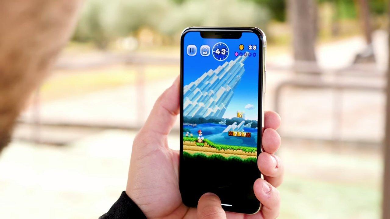 Uso del iPhone X