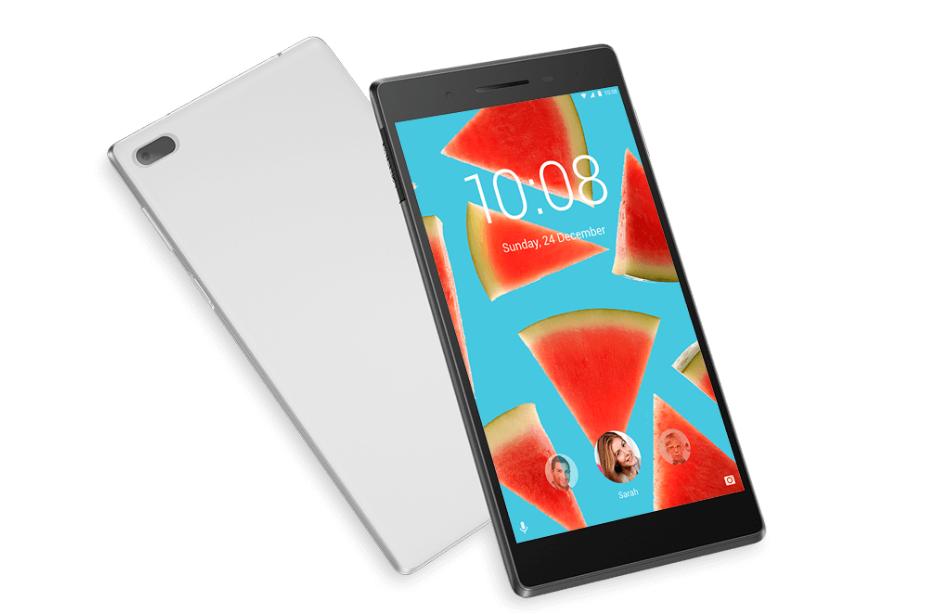 Diseño del tablet Lenovo Tab 7