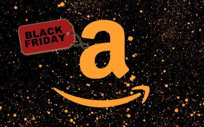 Logotipo de Amazon para Black Friday