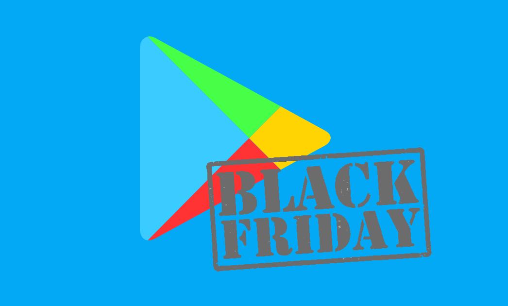 Logotipo Play Store con Black Friday