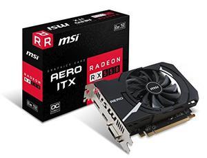 Grafica MSI Radeon RX 550 AERO ITX 2G OC