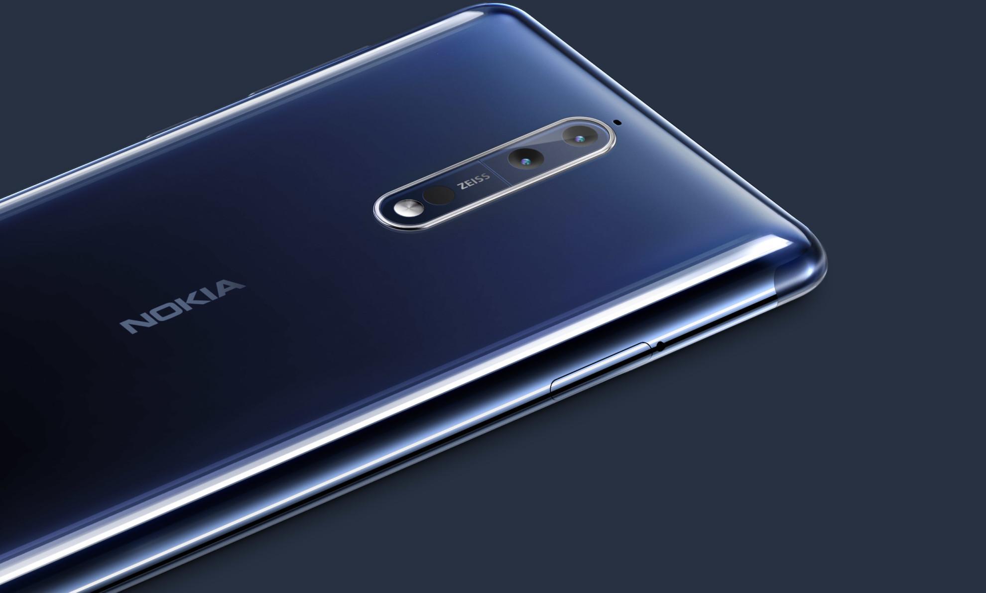 Cámara del Nokia 8