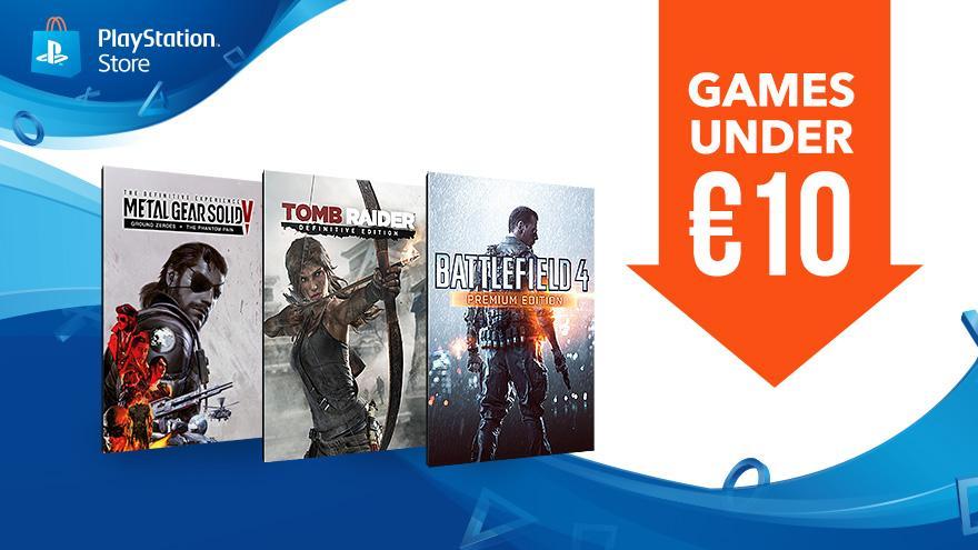 Juegos en oferta PlayStation Store por menos de 10 euros