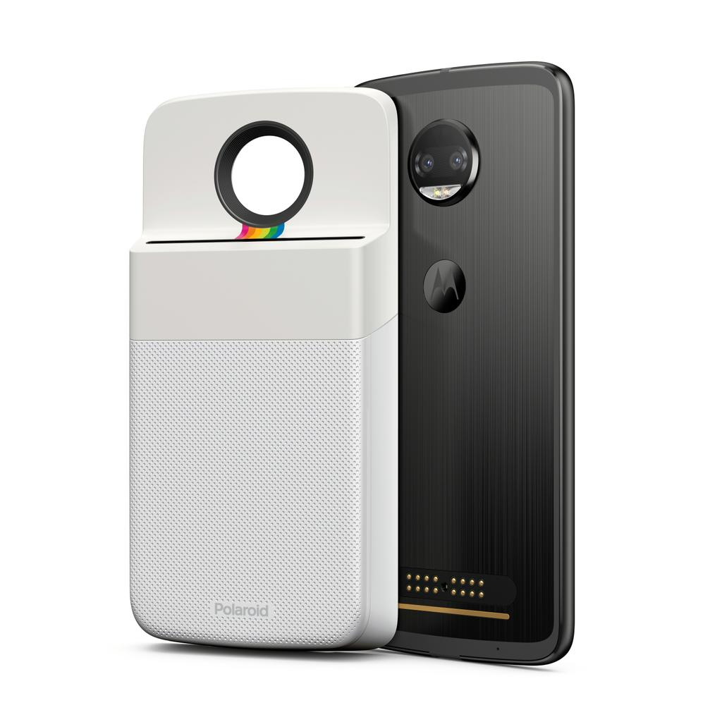 Polaroid Insta-Share Printer con un Moto Z