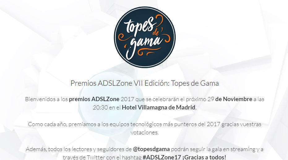 Votación premios de Topes de Gama