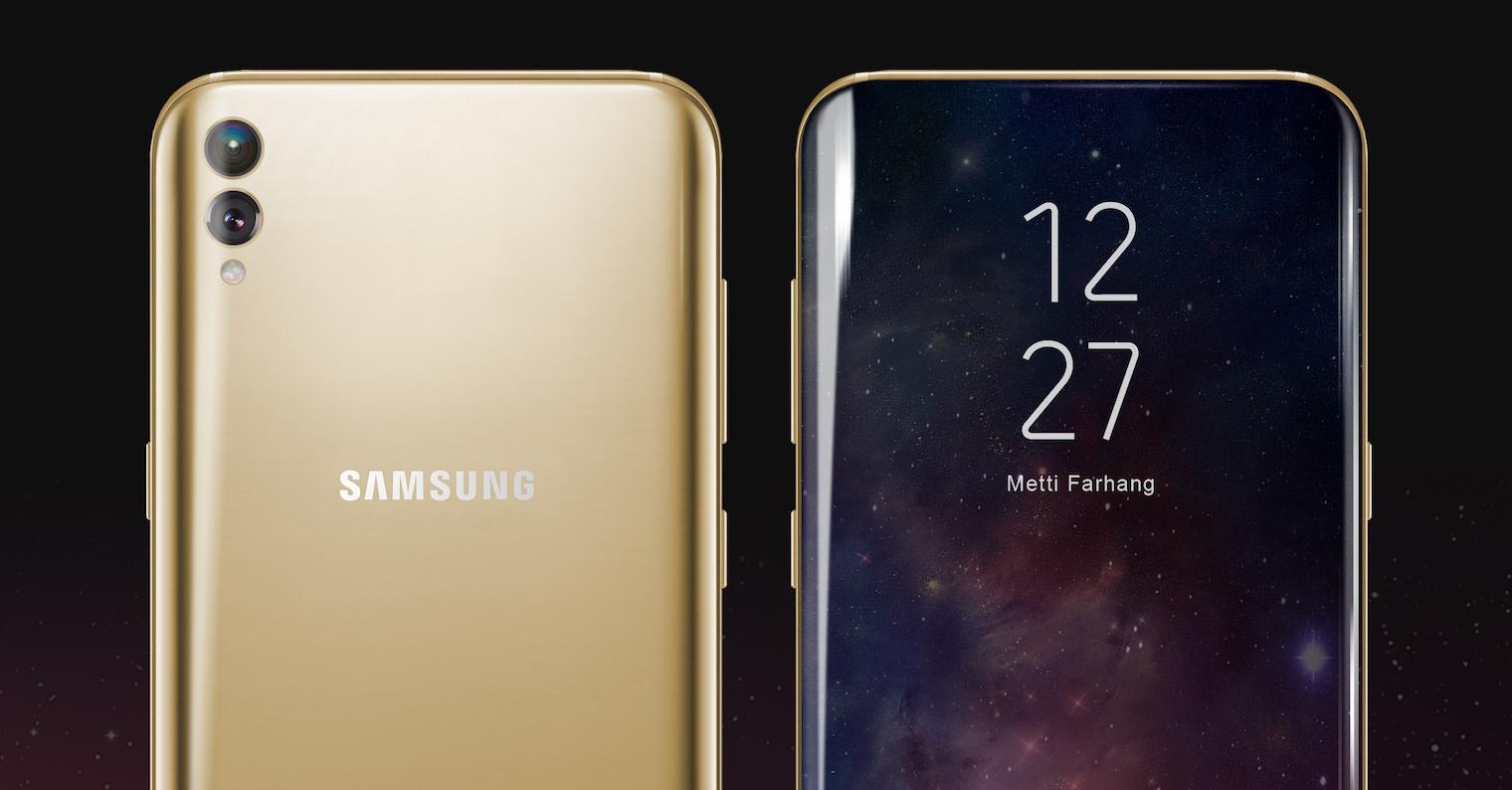 Frontal y trasera del Samsung Galaxy S9
