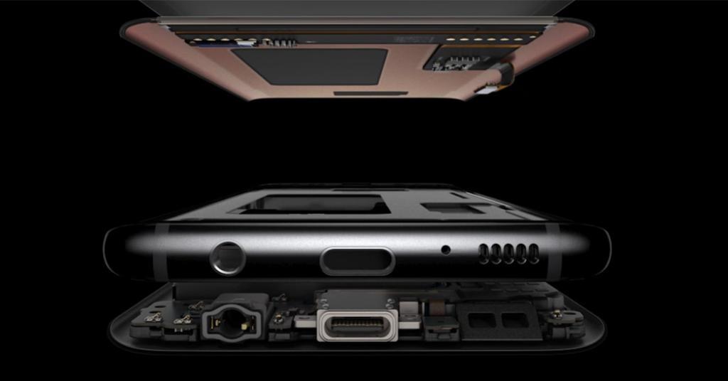 Samsung Galaxy S8 por dentro