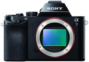 Cámara Sony Alpha ILCE-7