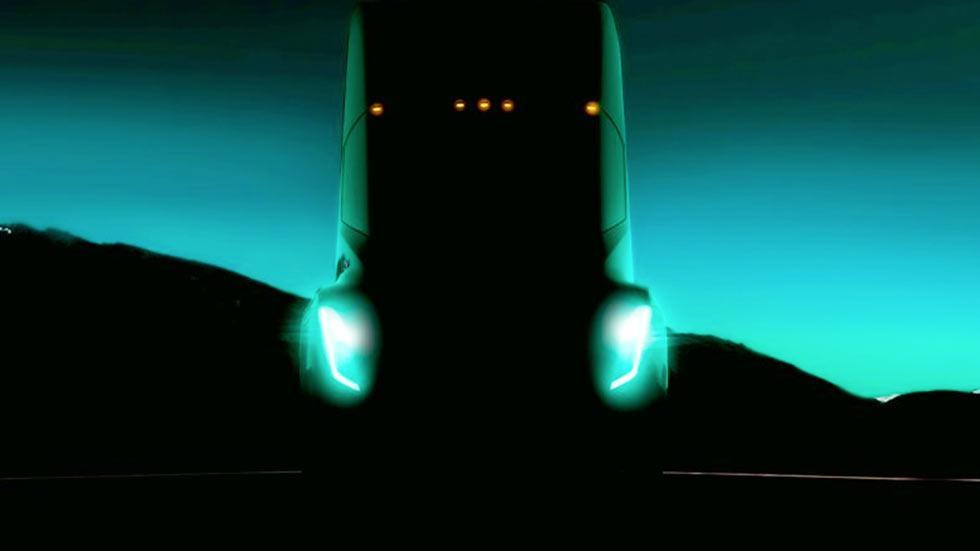 Diseño del camión eléctrico de Tesla