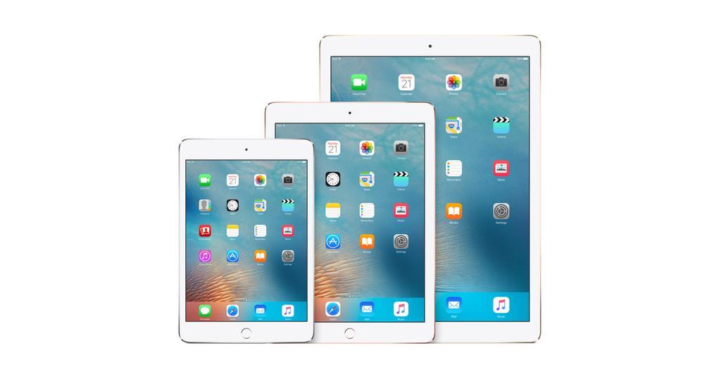 iPad por detrás