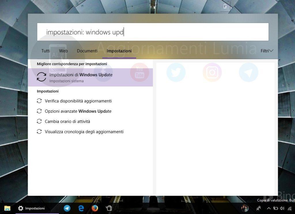Interfaz nueva barra de búsqueda Windows 10