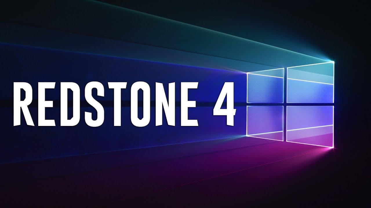 Logo de Windows 10 Redstone 4