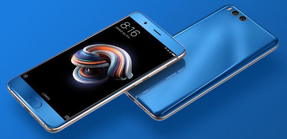 Nuevo Xiaomi Mi Note 3 de color azul