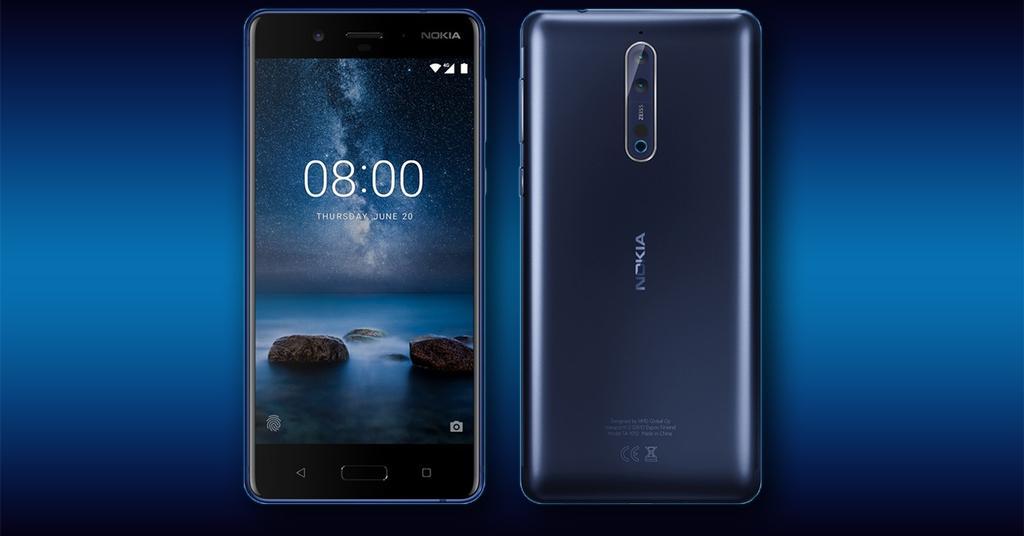 Render del Nokia 8