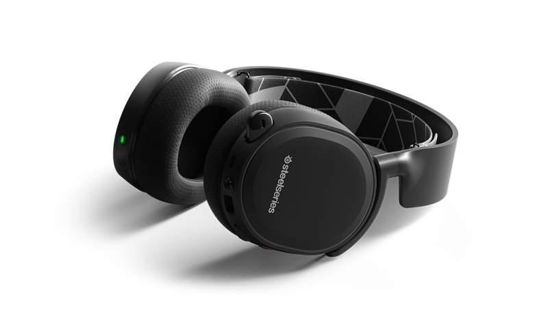 Diseño de los SteelSeries Arctis 3 Bluetooth