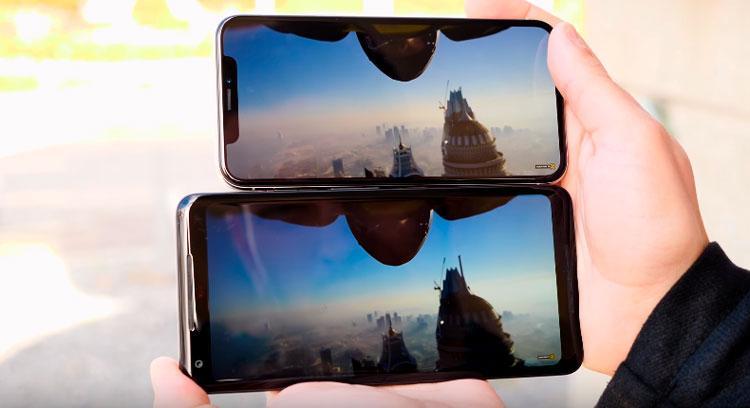 Comparativa del iPhone X
