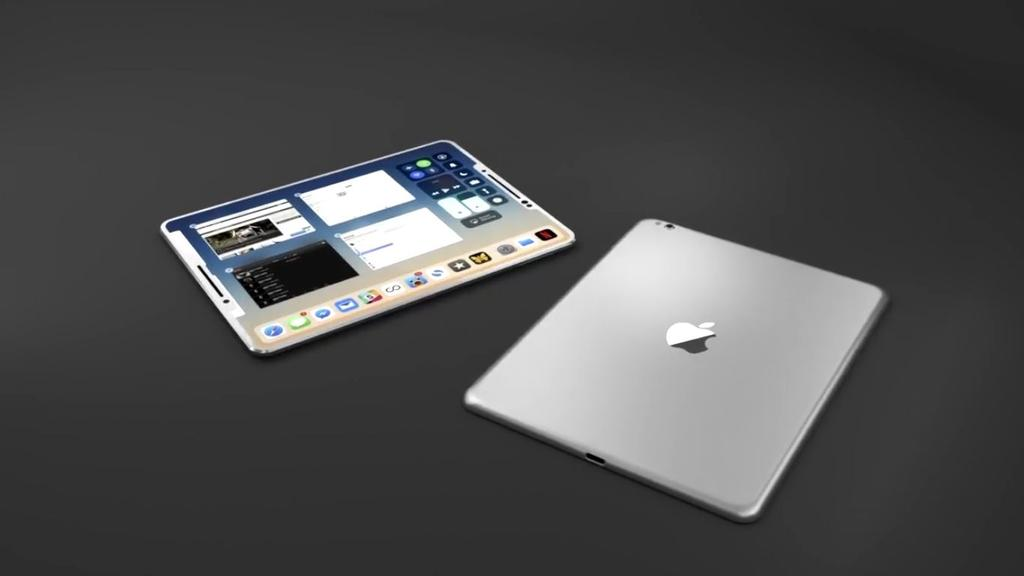 Posible diseño iPad 2018