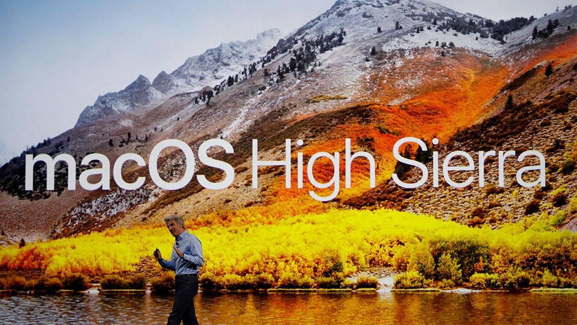 Logotipo de macOS High Sierra