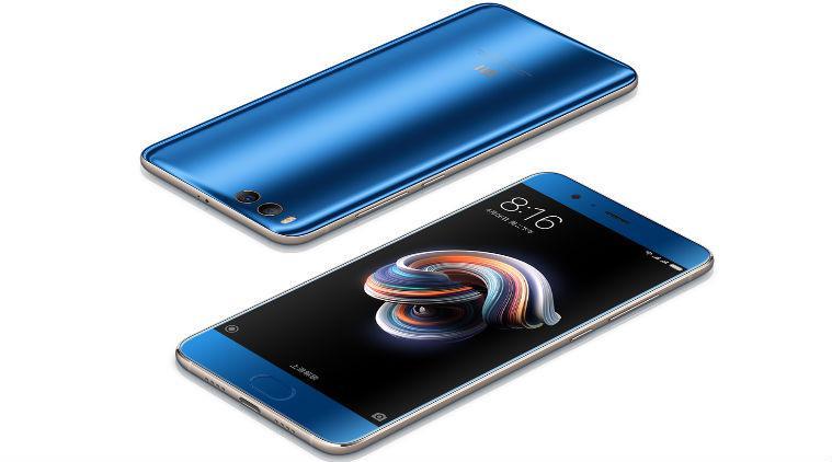 Laterales del Xiaomi Mi Note 3