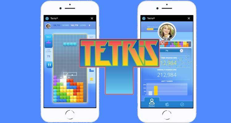 El Clasico Tetris Llega A Los Juegos Instantaneos De Facebook Messenger
