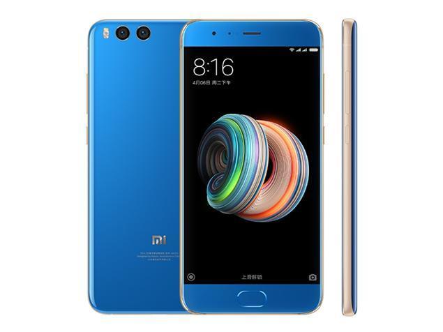 Diseño del Xiaomi Mi Note 3