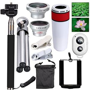 Conjunto de lentes y accesorios AFAITH Kit